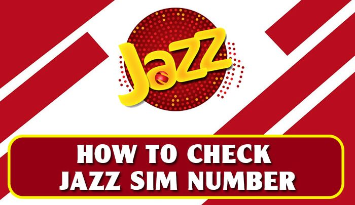How To Check Jazz SIM Number