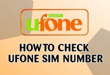 How To Check Ufone SIM Number