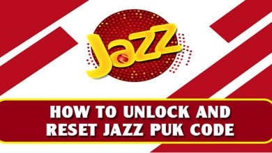 How To Unlock And Reset Jazz PUK Code