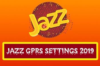 Jazz GPRS Settings 2019