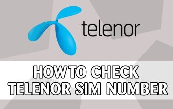 How To Check Telenor SIM Number - And Find Owner Detail With Code