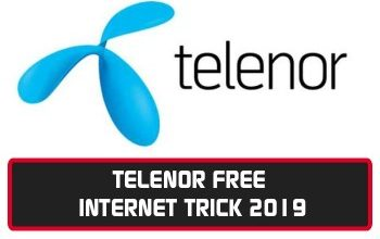 Telenor Free Unlimited Internet Trick 6 Method Updated