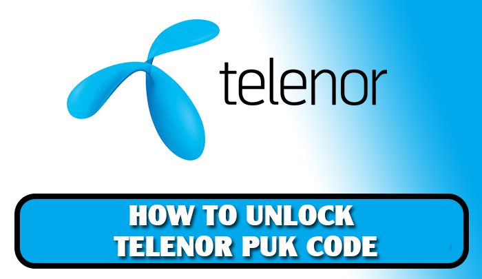 Telenor PUK Code-How To Reset Unlock Telenor SIM With PIN Code 2019