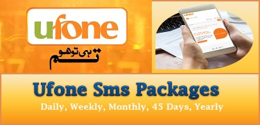 Ufone-Sms-Packages