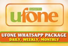 Ufone-Whatsapp-Package