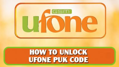 Ufone puk code