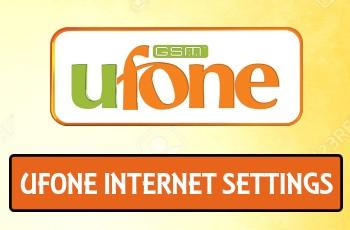 Ufone internet settings