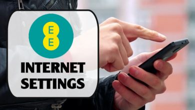 EE Internet Settings