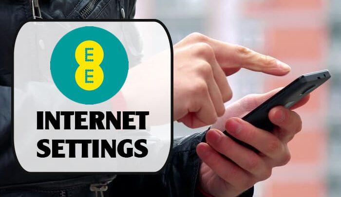 EE Internet Settings