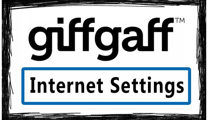 Giffgaff Internet Settings