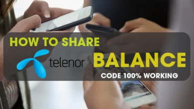 How To Share Telenor Balance
