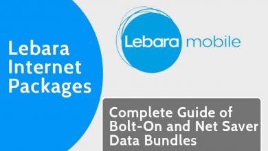 Lebara Internet Packages