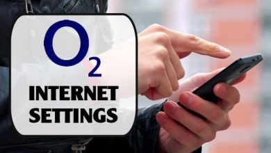 O2 Internet Settings