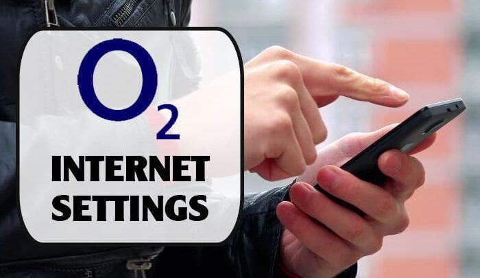 O2 Internet Settings