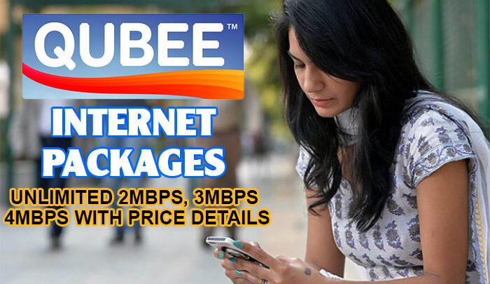 Qubee Internet Packages