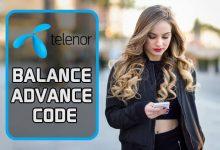 Telenor Balance Advance Code