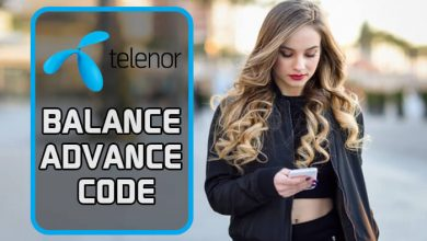 Telenor Balance Advance Code