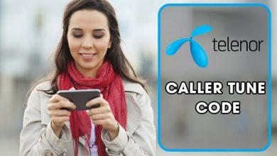 Telenor Caller Tunes Code