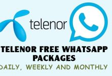 Telenor Free Whatsapp Packages