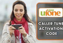 Ufone Caller Tunes Code