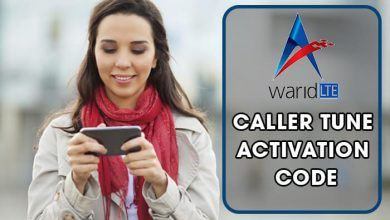 Warid Caller Tune Activation Code