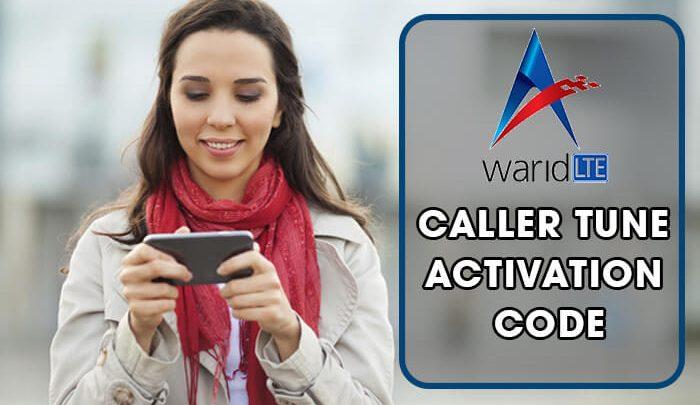 Warid Caller Tune Activation Code