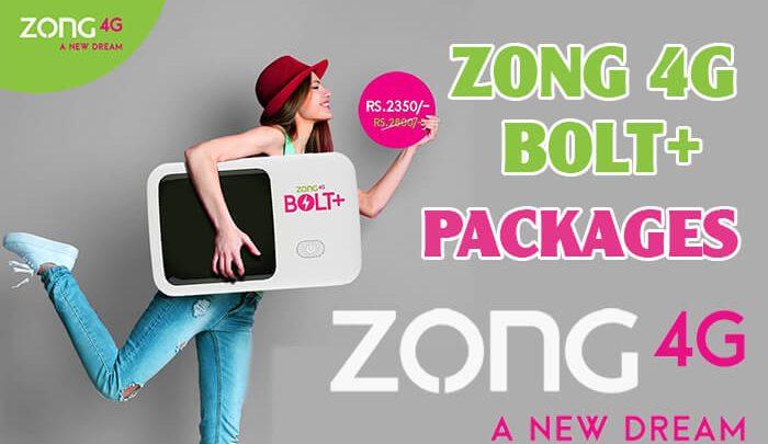 Zong 4G Bolt