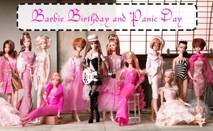 Barbie Birthday and Panic Day