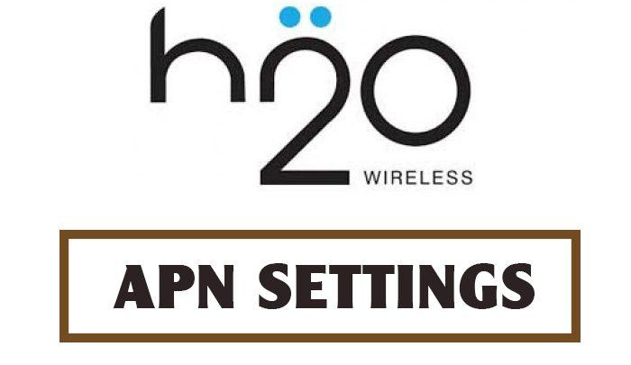 H20 Wireless APN Settings