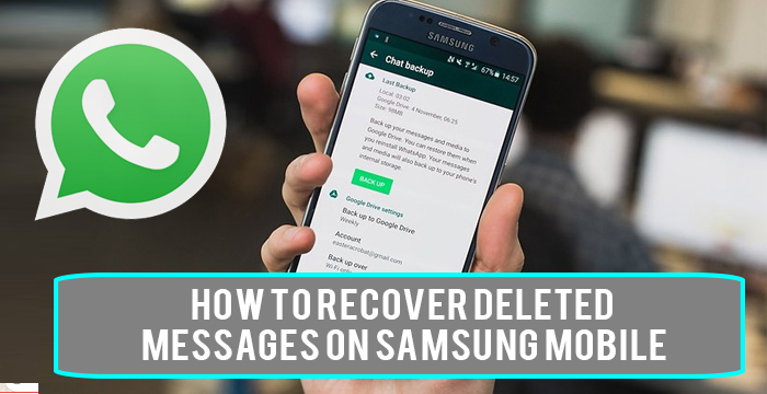 How To Recover Deleted Messages On Samsung Mobile
