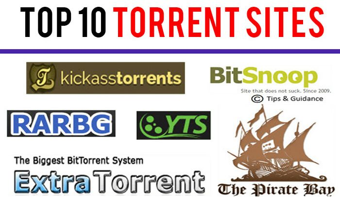Top 10 Most Popular Torrent Sites of May 2019