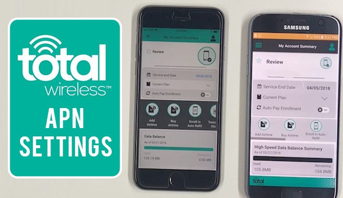 Total Wireless APN Settings-Complete Guide