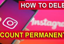How To Delete An Instagram Account Permanently