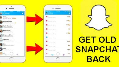 How To Get Old Snapchat Back