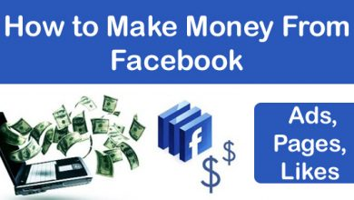 How To Make Money From Facebook Ads, Pages, Likes