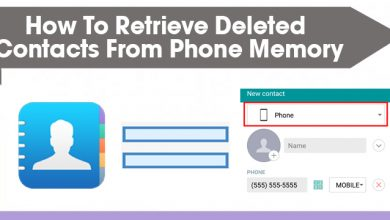how to retrieve deleted contacts from phone memory