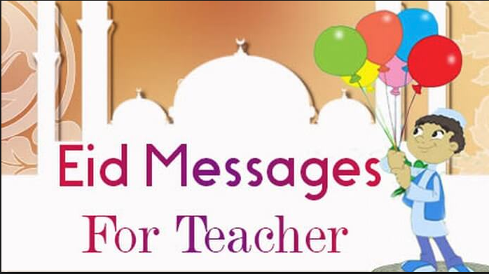 Eid Mubarak SMS for Teachers