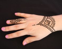 Finger Mehndi Designs for Kids