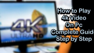 How to Play 4k Video On Pc Complete Guide Step by Step