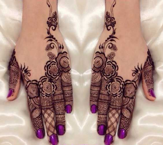 Indian Mehndi Designs For Fingers-1