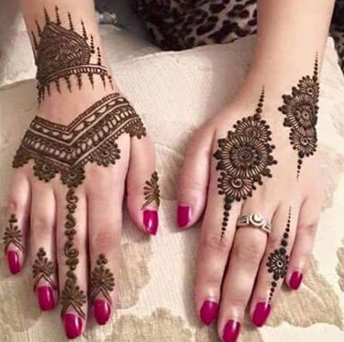 Indian Mehndi Designs For Fingers-2
