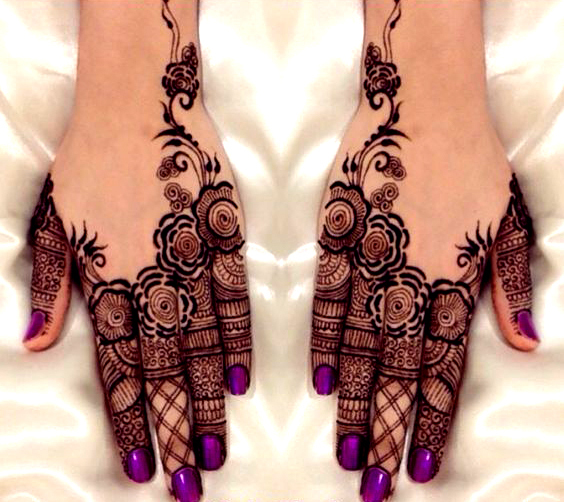 Indian Mehndi Designs For Fingers-3