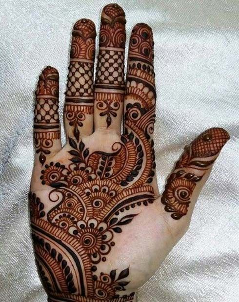 Indian Mehndi Designs for Hands-1