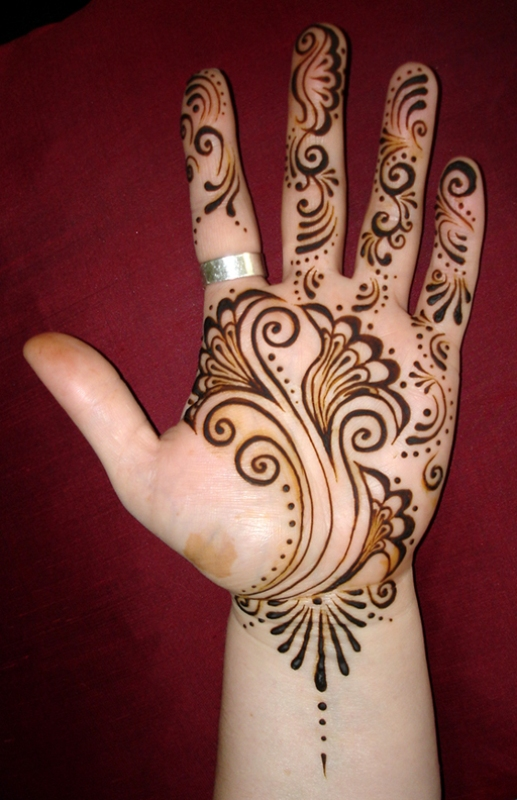 Indian Mehndi Designs for Kids-2