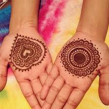 Indian Mehndi Designs for Kids-5