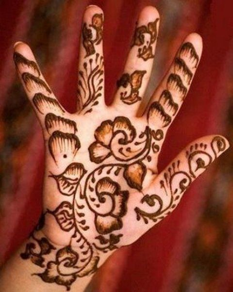 Indian Mehndi Designs for Kids
