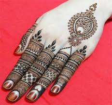 Mehndi Designs for Fingers