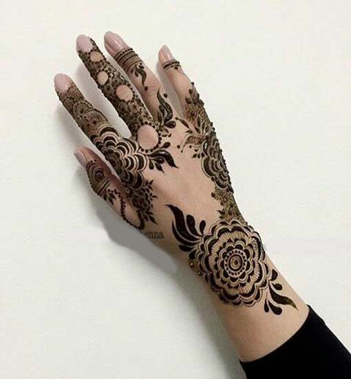 Mehndi Hand Designs For Her