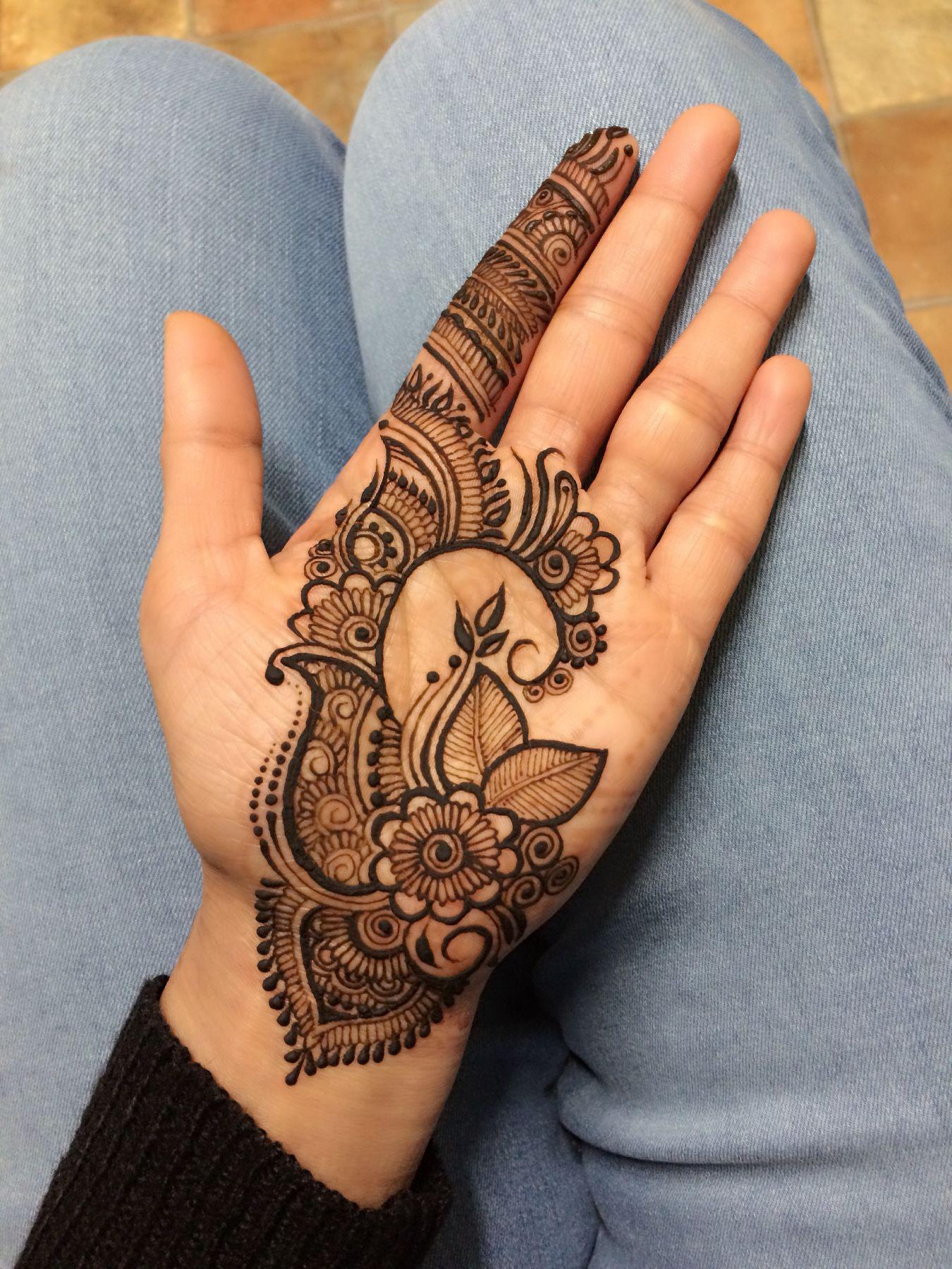 Mehndi Hand Designs For Kids