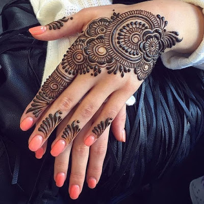 Arabic Mehndi Designs New Patterns and Sequence For Hands, Feet, Kids